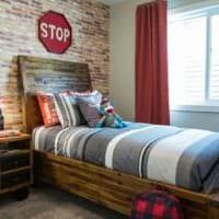 детская комната для мальчика красивый дизайн