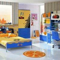 детская комната для мальчика практичный дизайн