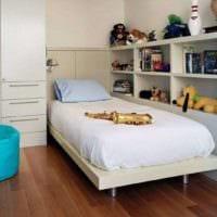 детская комната для мальчика стильный интерьер