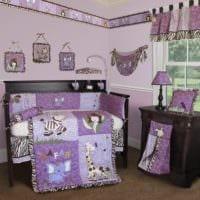 детская комната для новорожденного идеи
