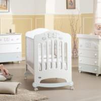 детская комната для новорожденного дизайн кровати