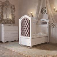 детская комната для новорожденного красивая мебель