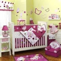 детская комната для новорожденного яркие тона