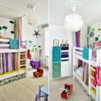 детская комната для разнополых детей фото интерьер