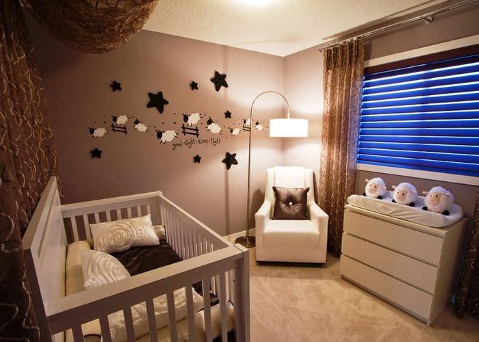красивая спальня ребенка