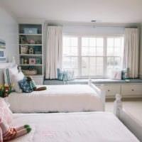 детская комната для разнополых детей декор