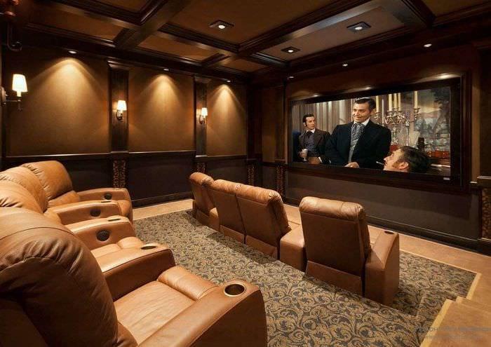 освещение в домашнем кинотеатре