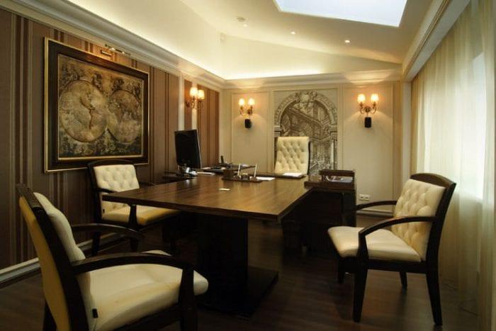 мебель в кабинете