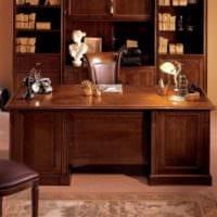 дизайн кабинета под старину