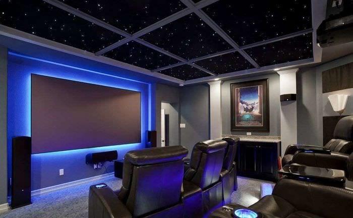дизайн и оформление домашнего кинотеатра
