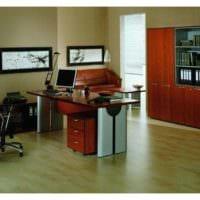 дизайн скромного кабинета