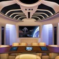 дизайн домашнего кинотеатра фото оформление