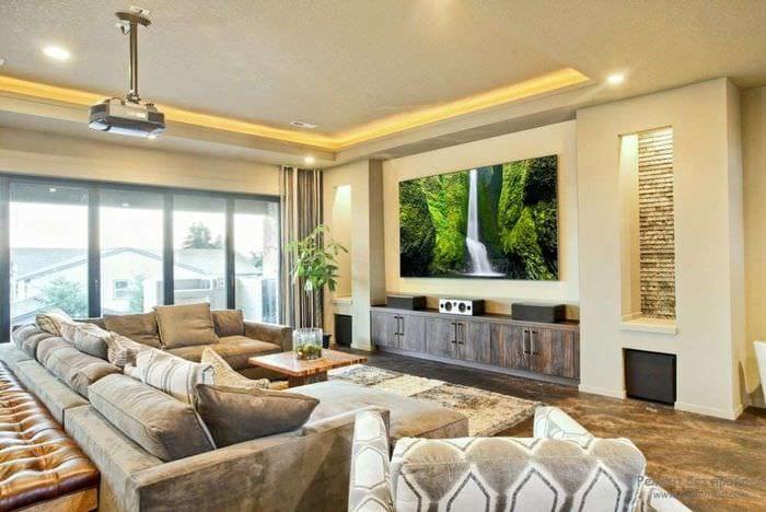 идеи дома фото дизайн современные кинозал 2016