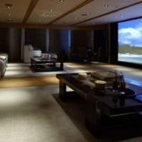 дизайн домашнего кинотеатра интерьер идеи