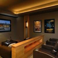 дизайн домашнего кинотеатра оформление идеи