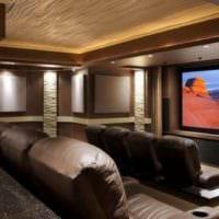 дизайн домашнего кинотеатра варианты