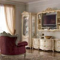 гостиная в стиле барокко фото