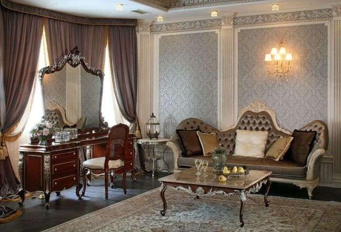интерьер в стиле барокко классика