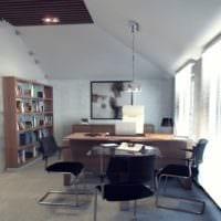 кабинет руководителя дизайн фото