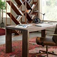 кабинет руководителя массив мебель