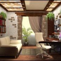 кабинет в квартире дизайн интерьер