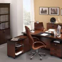 кабинет в квартире дизайн