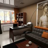 кабинет в квартире фото оформление