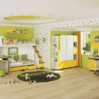 комната для разнополых детей дизайн фото