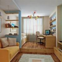 комната для разнополых детей фото дизайн