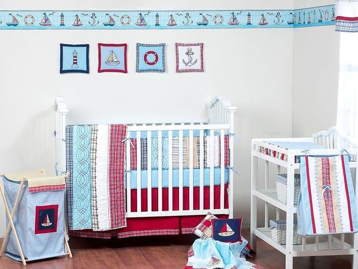 комната новорожденного дизайн