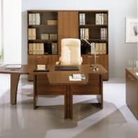 орех мебель кабинет руководителя