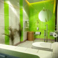 плитка для ванной комнаты зеленая фото