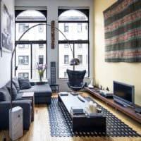 современные оригинальные примеры дизайна интерьера квартиры фото