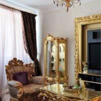 золотой антураж барокко