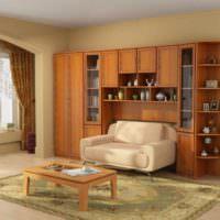 Необычная встроенная мебель