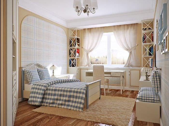 Дизайн детской комнаты в стиле классики