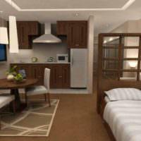 Книжный стеллаж как разделить пространства в однокомнатной квартире