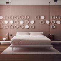 Дизайн спальни в стиле минимализма