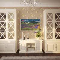 Кухонные шкафы в стиле прованс