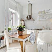Уютный декор столовой в стиле прованс
