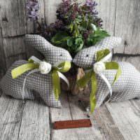 Мягкие пасхальные кролике к весеннему празднику