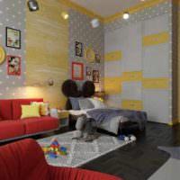 идея необычного интерьера квартиры в стиле поп арт фото