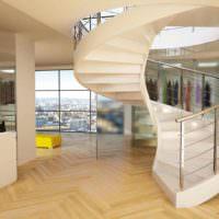 вариант красивого стиля лестницы картинка