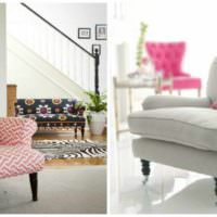 пример светлого украшения декора квартиры картинка