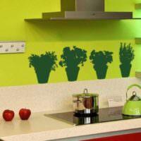 пример красивой поделки для декора кухни фото