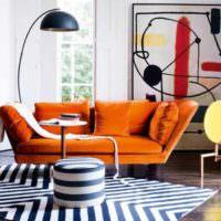 пример яркого интерьера дома в стиле поп арт фото