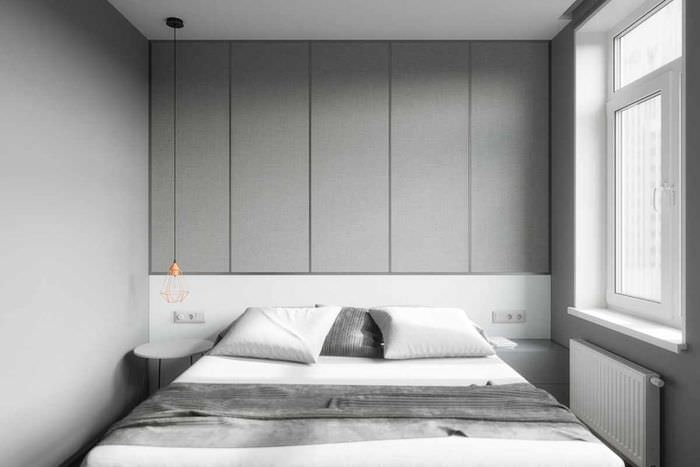 идея красивого стиля изголовья кровати