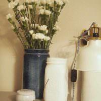 пример светлого украшения декора комнаты картинка