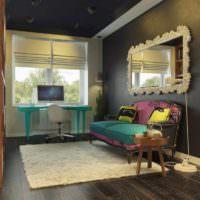 идея светлого интерьера дома в стиле поп арт картинка