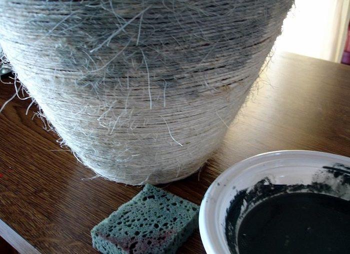 Декорирование вазы из папье-маше своими руками